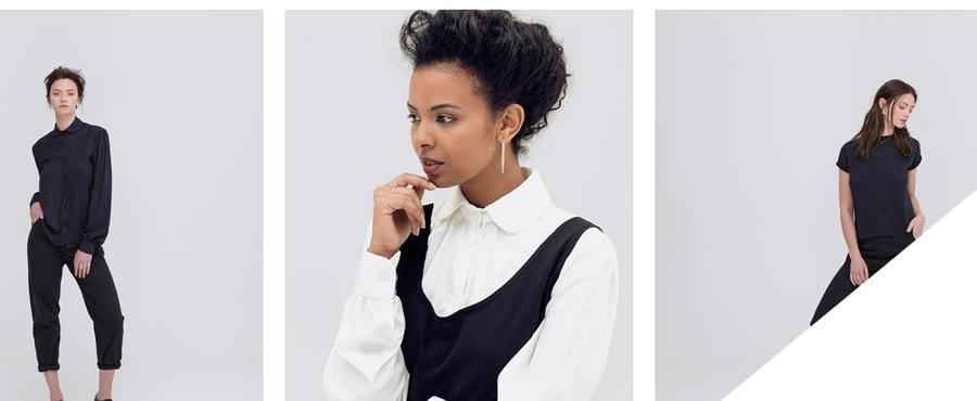Choosing an ecommerce platform - fashion shop images
