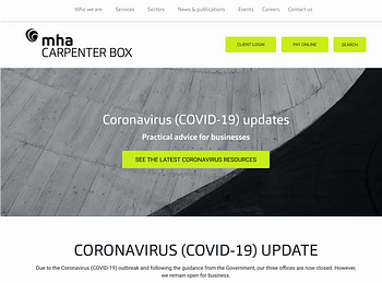 Carpenter Box are helpful to their customers during COVID-19