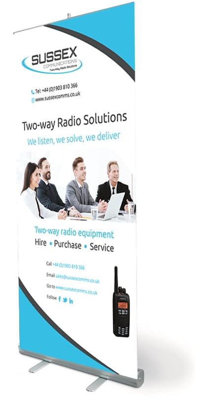 Two way radio suppliers and service in sussex, Sussex Communications