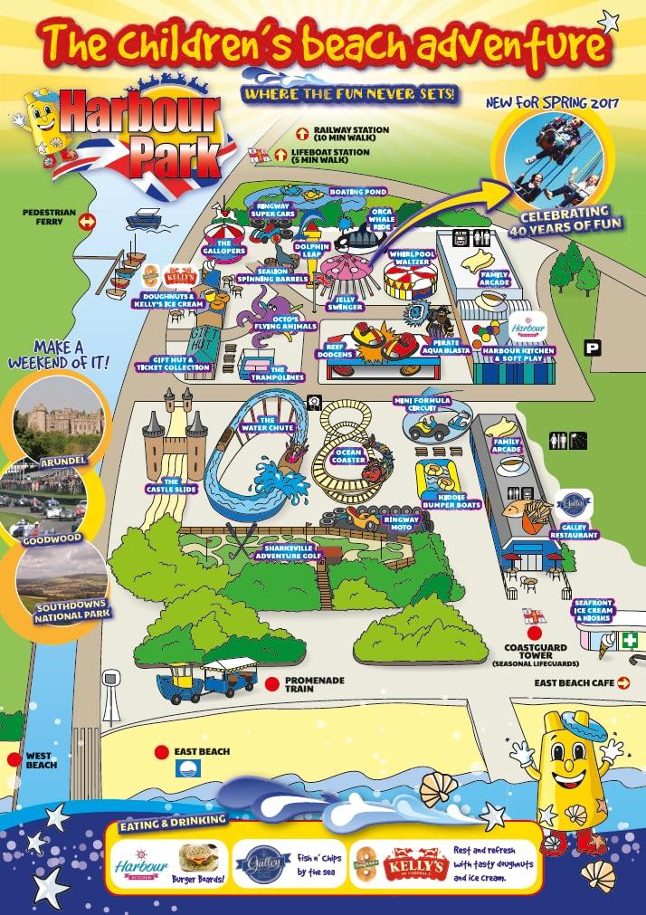 Harbour Park brochure design