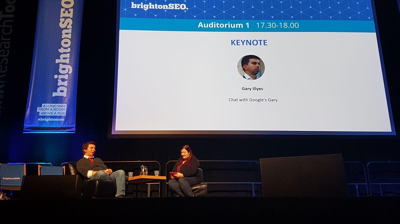 BrightonSEO2017_KeynoteGaryIllyes_PhotoCredit @Gianps