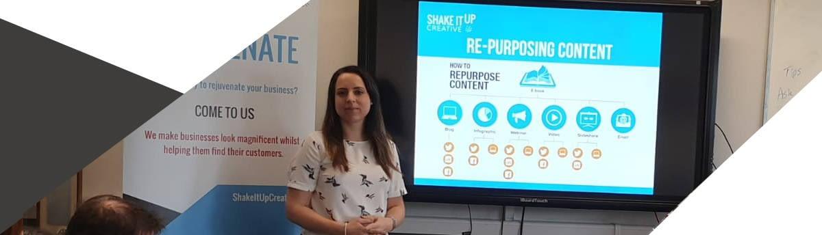 Shake It Up Creative design and marketing company Directors