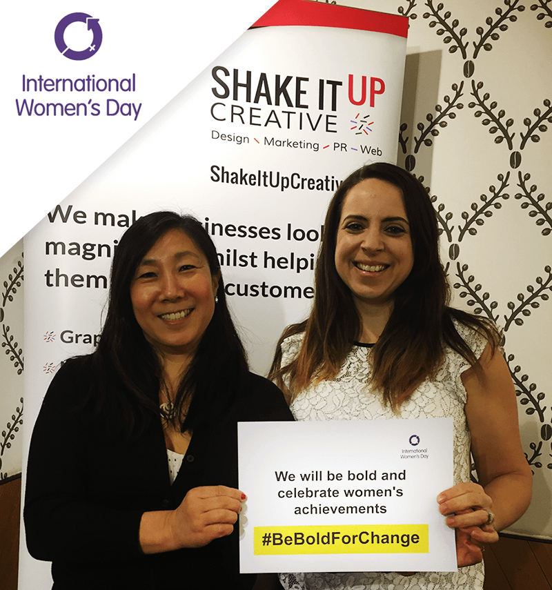 #BeBoldForChange Meg & Rachael acknowledge International Women's Day 2017