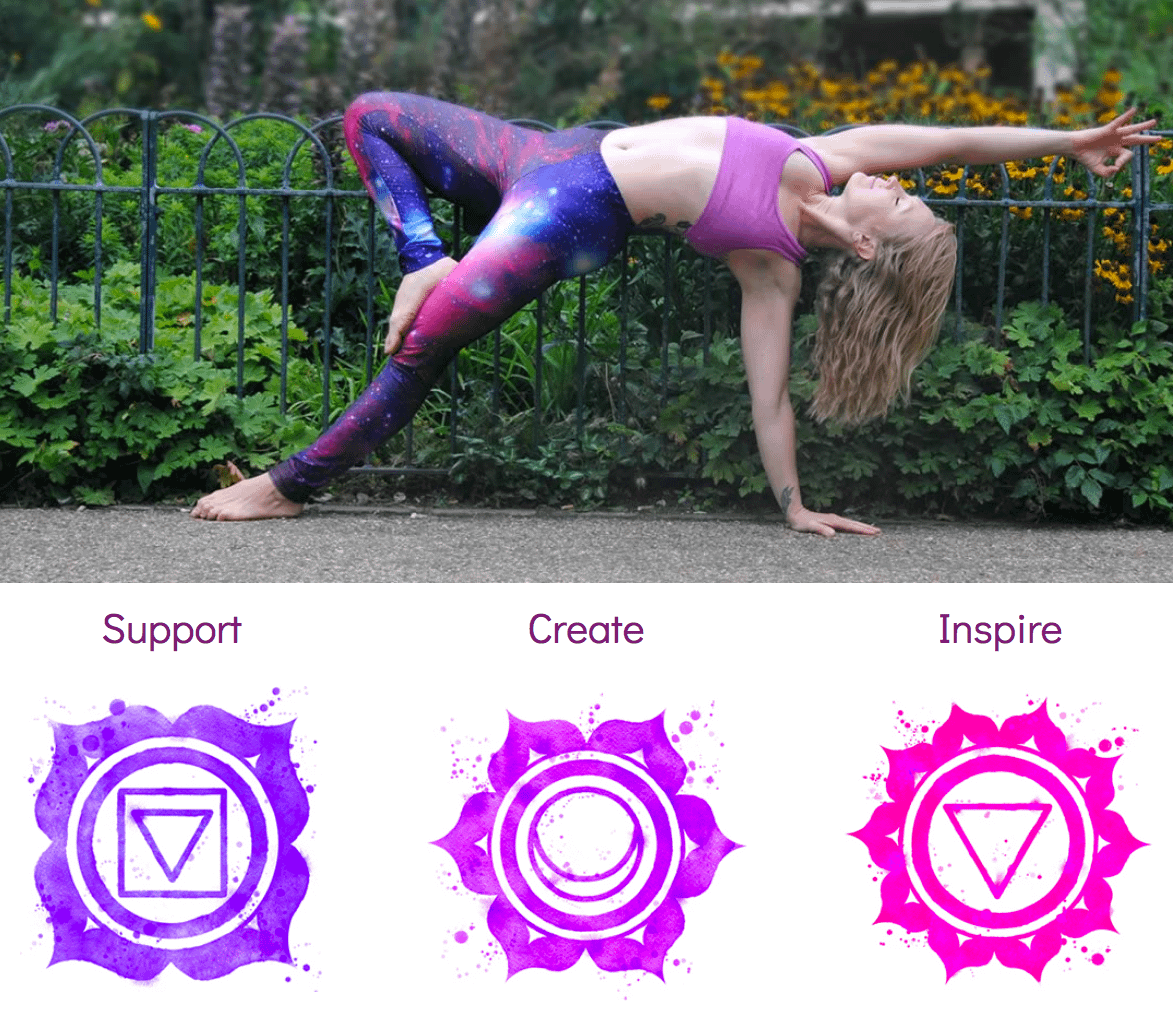 Web design and build for Gem Yoga