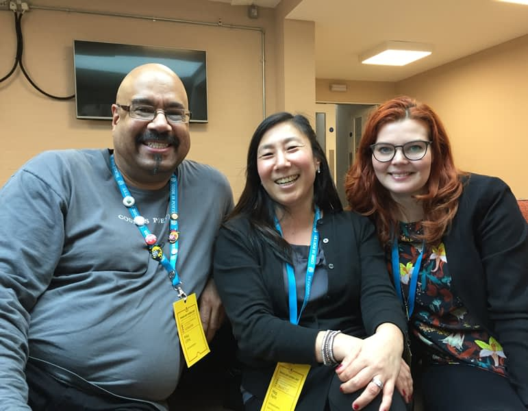 Great people at WordCamp London